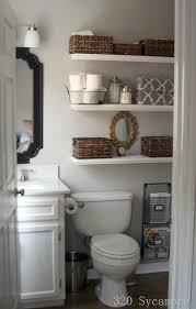 Bathroom Shelves Pinterest 17 Best Ideas About Small Bathroom Storage On Pinterest Bathroom
