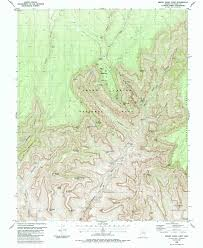 How To Read A Topographic Map Grand Canyon Maps Npmaps Com Just Free Maps Period
