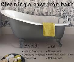 Cast Bathtub How Do I Clean My Cast Iron Bath Cast Iron Bath Companycast