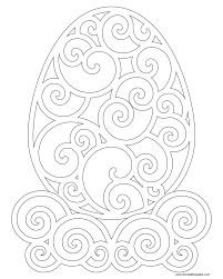 don u0027t eat the paste swirly egg coloring page