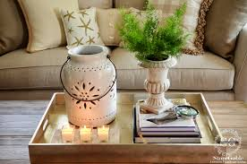 Round Trays For Coffee Tables - surprising coffee table decor living room u2013 centerpieces for