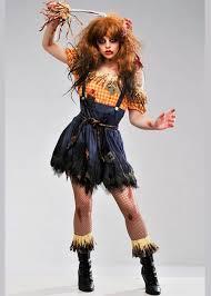 Womens Scarecrow Halloween Costume Horror Zombie Scarecrow Costume