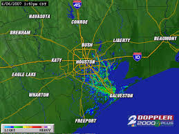 houston doppler map houston weather
