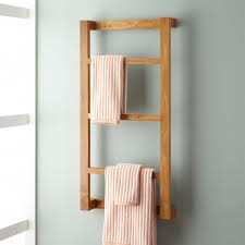 Hanging Pictures Wulan Teak Hanging Towel Rack Bathroom