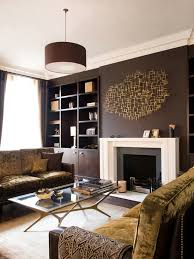 Beauteous  Brown Living Room Design Design Ideas Of Best - Contemporary living rooms designs