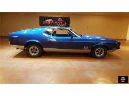 Black Mustang Mach 1 1971 Ford Mustang Mach 1 For Sale On Classiccars Com 10 Available