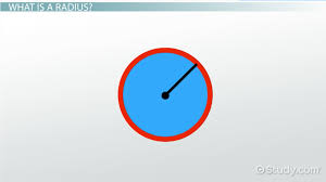 how to find the radius of a circle definition u0026 formula video