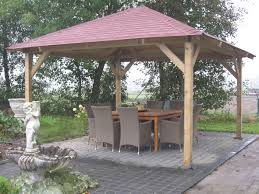 Gazebo Fire Pit Ideas by Wooden Gazebo Plans Free 4 Wooden Gazebo Kits Pinterest