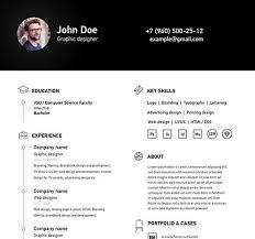 clean resume template free 28 images best free clean resume