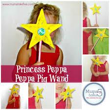 fairy princess peppa peppa pig wand