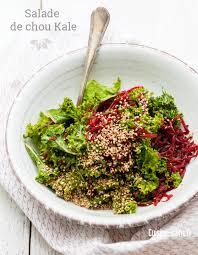 comment cuisiner le chou kale salade de chou kale en vidéo détox cuisine saine sans