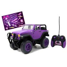 purple barbie jeep fingerhut jada toys girlmazing remote control jeep purple