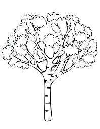 free fall coloring pages for toddlers print activities a tree with