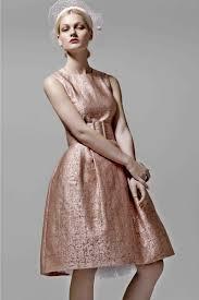 1950s dress rose gold cocktail dress event dress designer dress