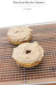 3 ingredient baked protein plantain donut for two grain free egg