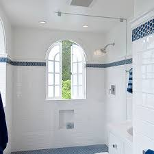 subway tile ideas for bathroom blue subway tile design ideas