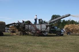 threshing machine wikipedia