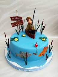 fish birthday cakes fishing cakes you can look fishing themed birthday cakes you can