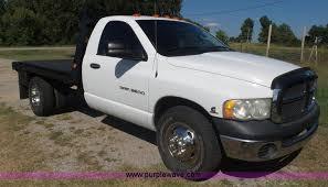 2005 dodge ram 3500 2005 dodge ram 3500 flatbed truck item cd9393 sol