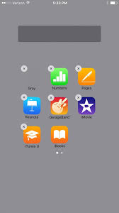 create invisible folders for all your secret iphone apps