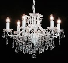 Ivory Chandelier Chandeliers Village Chic French Furntiure Shop Shabby Chic