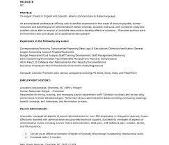 payroll administrator resume download payroll resume payroll