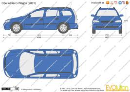opel astra wagon the blueprints com vector drawing opel astra g wagon