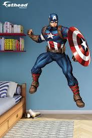 Captain America Bedroom by Captain America Avengers Assemble Diy Bedroom Décor Superhero