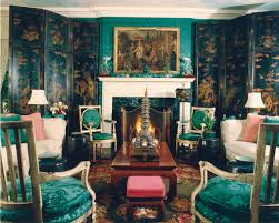Emerald Green Home Decor by Stylish And Dramatic Emerald Green Living Room By Tony Duquette