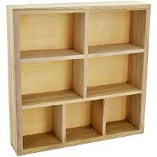 wooden storage unit craft storage at the works