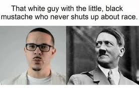 Mustache Guy Meme - that white guy with the little black mustache who never shuts up