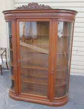 Ornate Display Cabinets Chippendale Antique Cabinets U0026 Cupboards Ebay