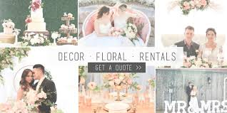 toronto flowers decor u0026 event rentals events weddings gta