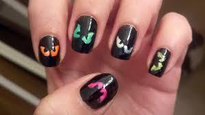 nail art spooktacular halloween nailt ideas easy for beginners