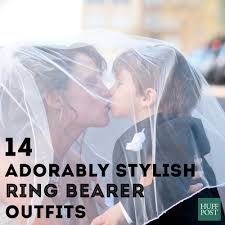 ring bearer wedding attire 14 adorably stylish ring bearer that are tough acts to