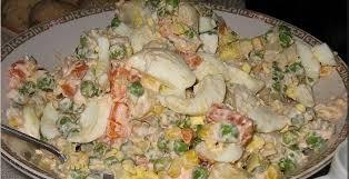 recette de cuisine russe salade russe olivier recette du plat phare du nouvel an au bélarus