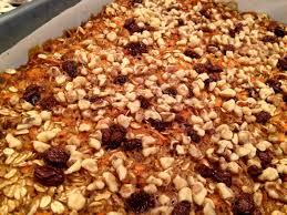 carrot cake oatmeal charlotte veggie