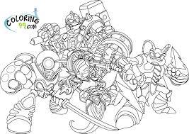 83 dessins de coloriage Skylanders à imprimer sur LaGuerchecom  Page 1