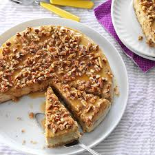 honey pecan cheesecake recipe taste of home
