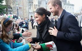prince harry meghan prince harry is a feminist too meghan markle meets her fans in wales