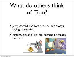 tom jerry characterization
