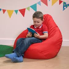 Red Leather Bean Bag Chair Home Design Awesome Bean Bag Chair Childs