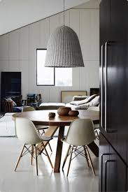 antique table with modern chairs the vintage modern dining room future and found