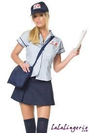 postal uniforms leg avenue womens postal worker costume discontinued