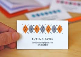 craft series part 5 make your own business cards wow i