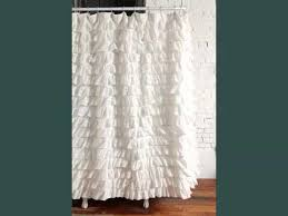 Turquoise Ruffle Curtains Ruffled Curtains Ideas Picture Collection Ideas Of For Your Door