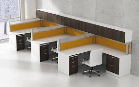 White Laminate Desk Furniture Creative Design Workstation Desk Aileencarroll