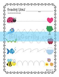 friday freebie u2013 tracing lines worksheet printable sing laugh learn