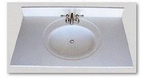 SFI Inc Sinks By SFI - Cultured marble backsplash