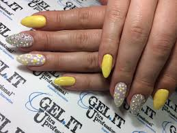 nails nail art nail design yellow nails spring 2017 nails